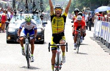 Luis Martínez consiguió una buscada victoria en Mariquita