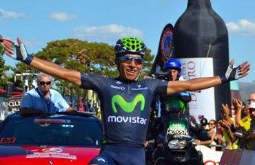 Quintana es uno de los mejores corredores en la actualidad