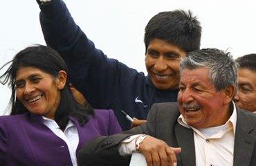 Quintana fue recibido muy afectuosamente por todos sus seguidores