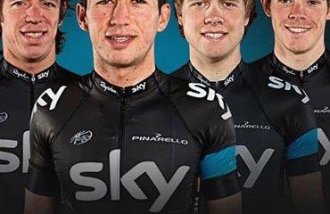 Henao, líder del Sky Procycling para la Vuelta