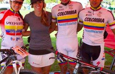 Xiomara Guerrero y Brandon Rivera, ganadores con Cundinamarca
