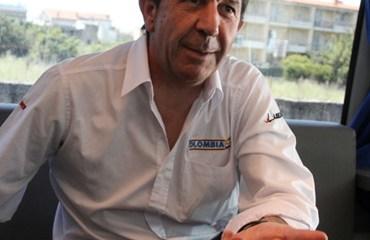 Claudio Corti, Manager General del Team Colombia