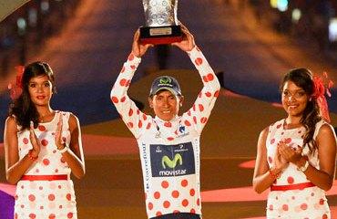 Quintana fue el rey de la montaña del pasado Tour