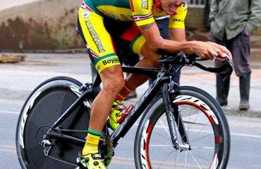 Pedro Herrera es el primer líder de la Vuelta a Cundinamarca