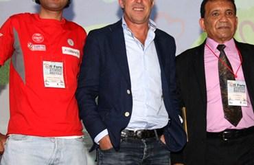 Pedro 'Perico' Delgado, Roberto 'Oso' Sánchez, Camilo Gómez y Salvador Moreno