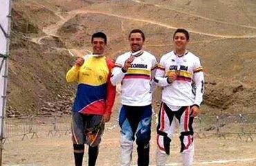 Marcelo Gutiérrez (Oro) y su hermano Rafael (Bronce) en Lima (Perú)