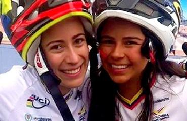 Mariana celebra con Estefanía el oro y bronce conseguidos en Perú