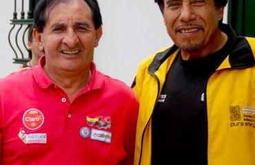 Rafael Antonio Niño junto a Oliverio Cárdenas