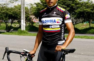 Rubiano ya se vistió con el uniforme del Team Colombia