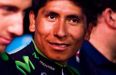 Nairo Quintana en la presentación del Tour de San Luis 2014