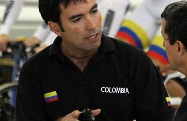 José Julián Velásquez, entrenador nacional de pista (Medio Fondo)