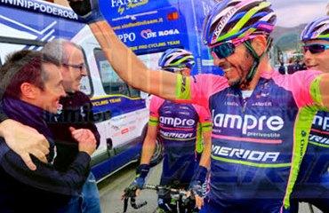 José Serpa y su triunfo en Laigueglia