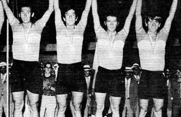 Colombia se bañó de oro en los Panamericanos de 1971