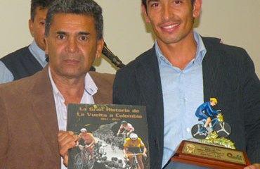 """Jorge Vergara fue destacado en 2013 como el mejor ciclista en su categoría, la """"A"""""""