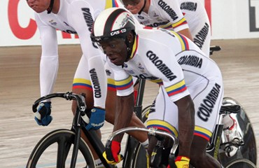 Colombia perdió la Velocidad por Equipos Hombres a manos de Venezuela