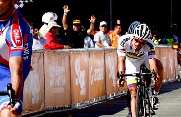 Garrido venció en el sprint final a Laverde en Chile