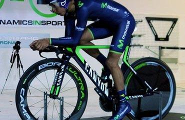 Quintana estuvo buscando el mejor rendimiento de su Canyon CRI