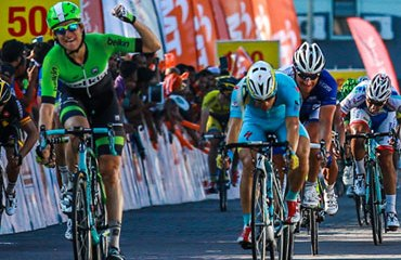 Theo Bos completó cuatro victorias de etapa en Malasia. ©Le Tour de Langkawi 2014