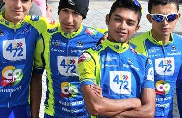 El 4-72 Colombia antes de la salida de la sexta etapa