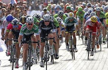 Cavendish ha logrado una espectacular victoria en Turquía