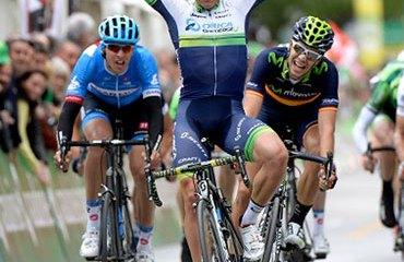 Albasini y su triunfo de este miércoles en Suiza