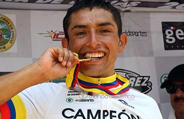 Rubiano lucirá la camiseta de campeón nacional en el Giro