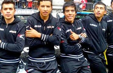 Duarte, Rubiano y Duque, encabezan la nómina del Team Colombia para el Giro 2014 (Foto©Karen Lambrecht)