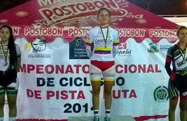 Camila Valbuena y un nuevo oro para Bogotá