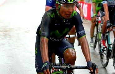 Quintana y su llegada en la sexta etapa del Giro 2014