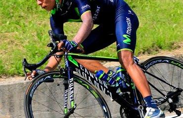 Quintana entra motivado a un fin de semana de alta montaña en el Giro