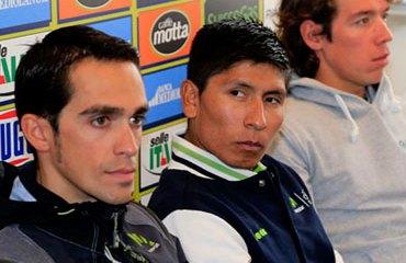 Contador, Quintana y Urán, figuras del ciclismo mundial