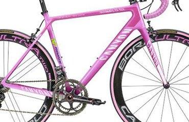 Esta es la Ultimate CF SLX, la bicicleta rosa de Canyon que usó Quintana en el Giro