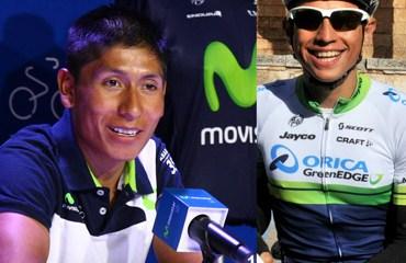 Quintana y Chaves de nuevo en Colombia para seguir con su preparación