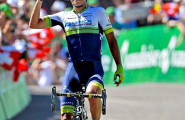 Esteban Chaves inmenso vencedor de la jornada de alta montaña