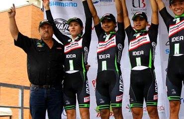 Gabriel J. Vélez con su fuerte escuadrón en la pasada Vuelta de la Juventud