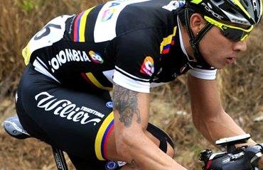 Juan P. Valencia estuvo en el podio de Luxemburgo