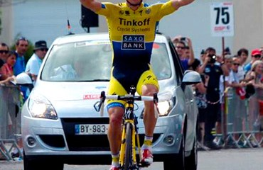 Roche quedó a una fracción del título en Francia