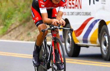 Contreras (Coldeportes-Claro) y su triunfo de la tercera etapa