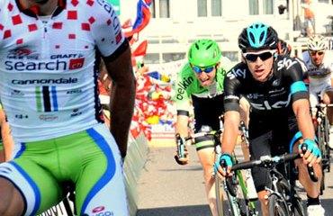 Henao fue tercero en la fracción de este lunes en Suiza