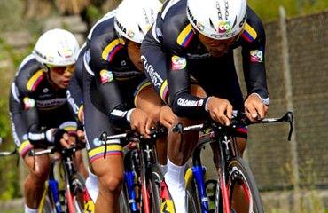 El Team Colombia en acción esta temporada en Europa