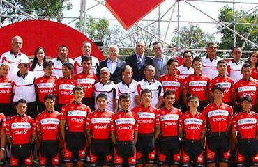 El equipo rojinegro presentó su equipo y definió su formación para la ya próxima Vuelta a Colombia