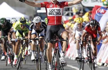 Gallopin consiguió su segunda victoria en la edición 2014 del Tour de Francia