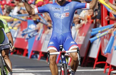 Bouhanni ganó en el primer recorrido en línea de la ronda ibérica 2014