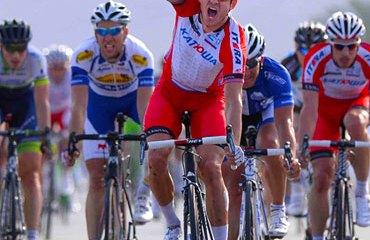 Alexander Kristoff, destacado pedalista de Noruega, país que organizará el Mundial dentro de tres años.