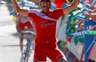Navarro se alzó con la victoria en el preludio de un espectacular fin de semana en la Vuelta a España
