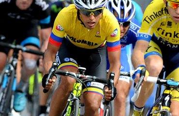 Miguel Ángel Rubiano fue el único de los ocho colombianos que terminó la carrera italiana.