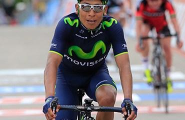 El título en el Giro de Italia, el punto cumbre de Quintana este año.
