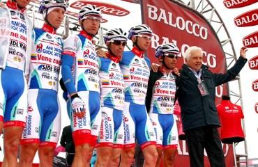 En 2015, el equipo suramericano se llamará Androni–Venezuela.