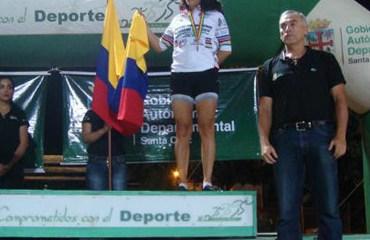 María Isabel Arenas, una de las tres medallistas de la delegación nacional.