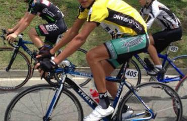 Castañeda, campeón 2013–14 de la ruta élite.